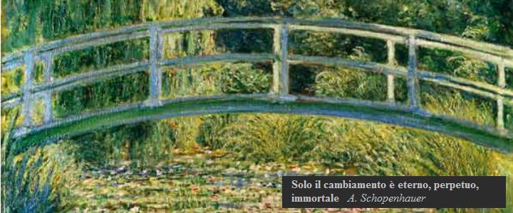 Quadro di Monet nello studio di Vicenza della psicologa e psicoterapeuta Daniela Ruggiero