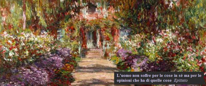 Giardino di Monet, riproduzione nello studio di Vicenza della Dott.ssa Daniela Ruggiero.