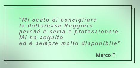 Dott.ssa Daniela Ruggiero - Recensioni 1