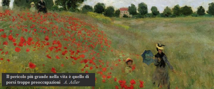 Papaveri di Monet, quadro presente nello studio della Dott.ssa Daniela Ruggiero